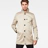G-Star RAW® Garber Trench Beige model front