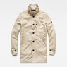 G-Star RAW® Garber Trench Beige flat front