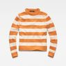 G-Star RAW® Doolin Stripe Knit Orange flat front
