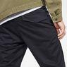 G-Star RAW® Rackam Straight Tapered Cuffed Pant Black model back zoom