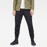 G-Star RAW® Rackam Straight Tapered Cuffed Pant Black model front