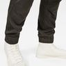 G-Star RAW® Rackam Straight Tapered Cuffed Pant Grey flat back