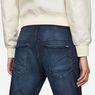 G-Star RAW® Arc 3D Sport Mid Boyfriend Jeans Dark blue model back zoom