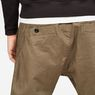 G-Star RAW® Bronson Sport Cuffed Chino Green model back zoom