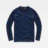 G-Star RAW® Motac Dc Indigo T-Shirt Dunkelblau flat front