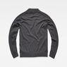 G-Star RAW® Core Mock Turtle Knit Grey flat back