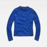 G-Star RAW® Sangona Knit Medium blue flat front