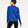 G-Star RAW® Sangona Knit Medium blue model back