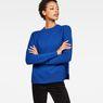 G-Star RAW® Sangona Knit Medium blue model front