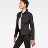 G-Star RAW® 3301 Slim Sherpa Jacket Black model side