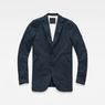 G-Star RAW® Empral Blazer Dark blue flat front