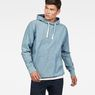 G-Star RAW® Woven Hooded Sweater Medium blue