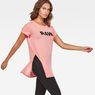 G-Star RAW® Rovi Knotted T-Shirt Pink model side