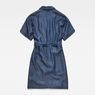 G-Star RAW® Blake Wrap Dress Dark blue flat back
