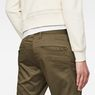 G-Star RAW® Bronson Slim Chino Grün model back zoom