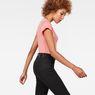 G-Star RAW® Raw Correct Liixa Slim T-Shirt Pink model side
