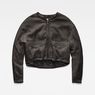 G-Star RAW® Rackam Oversized Cropped Bomber Grey flat front