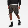 G-Star RAW® Rovic Pm Relaxed 1/2 Shorts Green model front