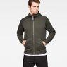 G-Star RAW® Strett Dc Hooded Zip Thru Sweat Grey model front