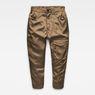 G-Star RAW® Boxxa 3D Mid waist Boyfriend Cargo Pants Green flat front