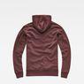 G-Star RAW® Loaq Hooded Sweat Purple flat back