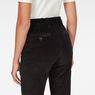 G-Star RAW® Bronson High Waist Skinny Chino Black model back zoom