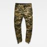 G-Star RAW® Rovic 3D Straight Tapered Pants Green flat front