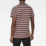 G-Star RAW® Mow Stripe T-Shirt Braun model back
