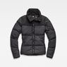 G-Star RAW® Whistler Quilted Slim Jacket Black flat front