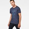 G-Star RAW® Art#6 T-Shirt Dark blue model front