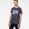 G-Star RAW® Art#2 T-Shirt Dark blue model front