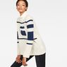 G-Star RAW® Cyeil Turtle Knit White model front