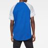 G-Star RAW® Beatal Loose Raglan T-Shirt Medium blue model back