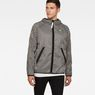 G-Star RAW® Strett Hooded Jacket + Gymbag Black model front