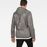 G-Star RAW® Strett Hooded Jacket + Gymbag Black model back
