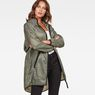 G-Star RAW® Strett Hooded Parka + Gym-Bag Green model front