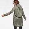 G-Star RAW® Strett Hooded Parka + Gym-Bag Green model back