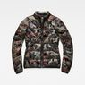 G-Star RAW® Strett Quilted Jacket Green flat front