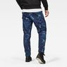 G-Star RAW® Rovic 3D Straight Tapered Pants Dark blue model back