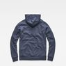 G-Star RAW® Doax Hooded Sweater Dark blue flat back
