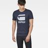 G-Star RAW® Drillon T-Shirt Dark blue model front