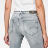 G-Star RAW® Midge Mid Waist Straight Jeans Grau