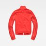 G-Star RAW® Lanc Slim Tracktop Sweater Rouge flat back