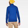 G-Star RAW® Core Turtle Knit Medium blue model back