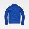 G-Star RAW® Core Turtle Knit Medium blue flat back