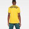 G-Star RAW® Graphic 5 Pocket T-Shirt Yellow model back
