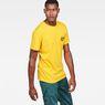 G-Star RAW® Graphic 5 Pocket T-Shirt Yellow model side