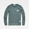 G-Star RAW® Graphic 7 Pocket T-Shirt Green flat front