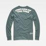 G-Star RAW® Graphic 7 Pocket T-Shirt Green flat back