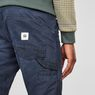 G-Star RAW® Faeroes Classic Straight Tapered Pants Dark blue model back zoom